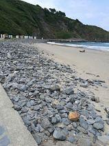 Piedras playa de Salinas